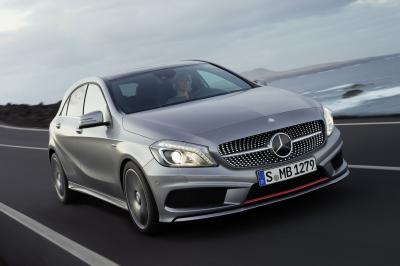 2012 Merceded-Benz A-class