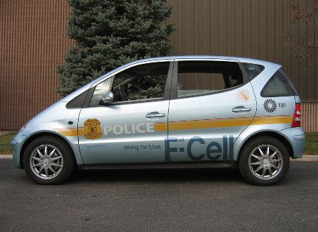 Mercedes-Benz F-Cell Police car