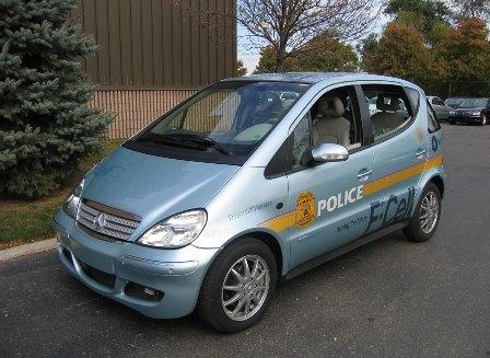 Mercedes-Benz F-Cell Police car